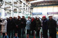 红古区非公企业党组织书记、党建专干一行赴方大炭素观摩交流